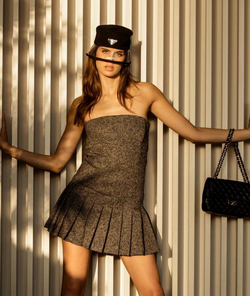 Dress With Thin Belt by Annalisa Peretti