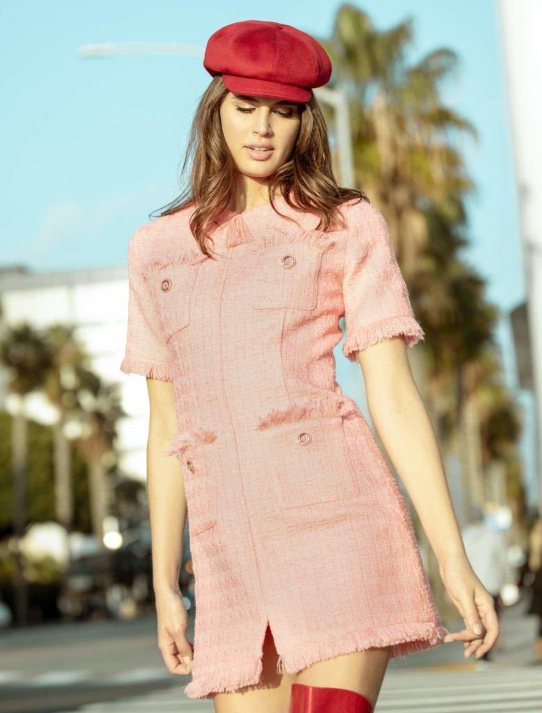 Chic Pocket Dress by Annalisa Peretti